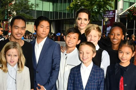 angelina jolie struggling to keep children happy after angelina jolie quotes about brad pitt divorce september