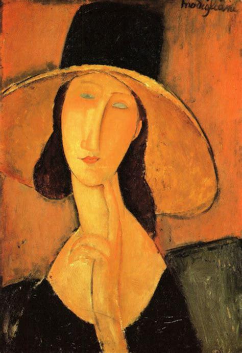 modigliani woman with a modigliani portrait of a woman with hat modigliani canvas