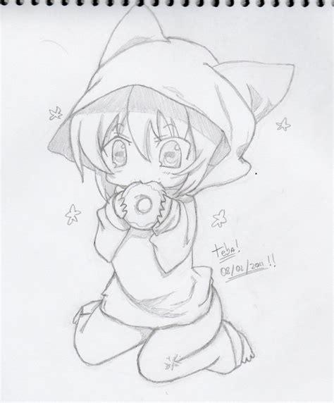 imagenes kawaii a lapiz imagenes de anime kawaii neko para dibujar