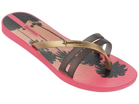 ipanema slippers sale ipanema flip flops ipanema flip print fem pink black