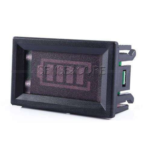 led stable led acid charge level battery indicator voltmeter