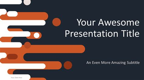 Retro Free Powerpoint Template Powerpoint Slides Template