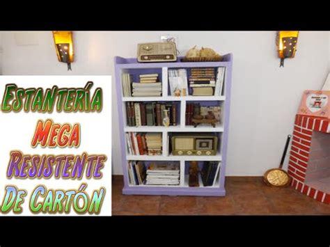 muebles para guardar libros diy estanter 237 a hecha con cart 243 n para libros tutoriales