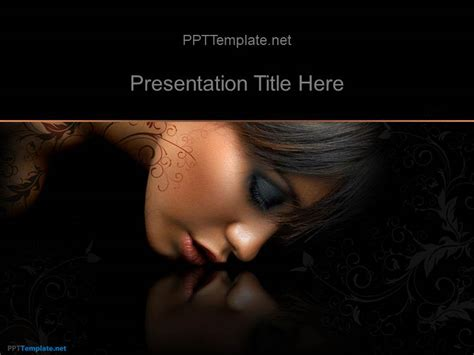fashion powerpoint templates free free fashion ppt template