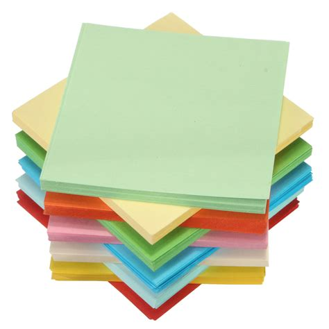 Origami Sided Paper - 100 520 sheets origami square paper sided coloured