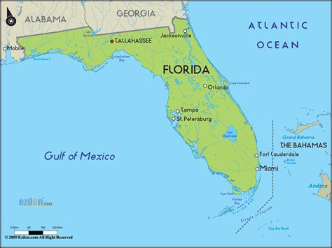 map f florida florida map free large images