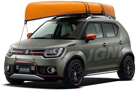 Suzuki Ignus Suzuki Ignis India Bound Water Activity Concept Revealed