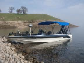 Bass Boat Canopy by Too Much Fun In The Sun Bass Angler Magazine