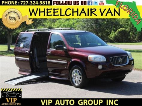 security system 2007 buick terraza parental controls minivan for sale in clearwater florida