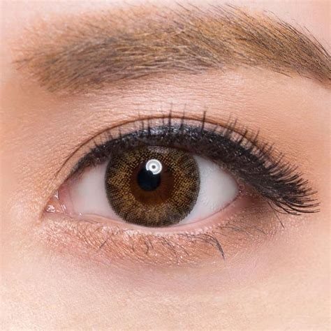 color contacts for brown non prescription buy freshlook colorblends brown colored contacts eyecandys