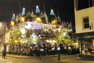 all about london is this britain s most christmassy pub