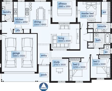 single floor plans single story house floor plans single floor house plans