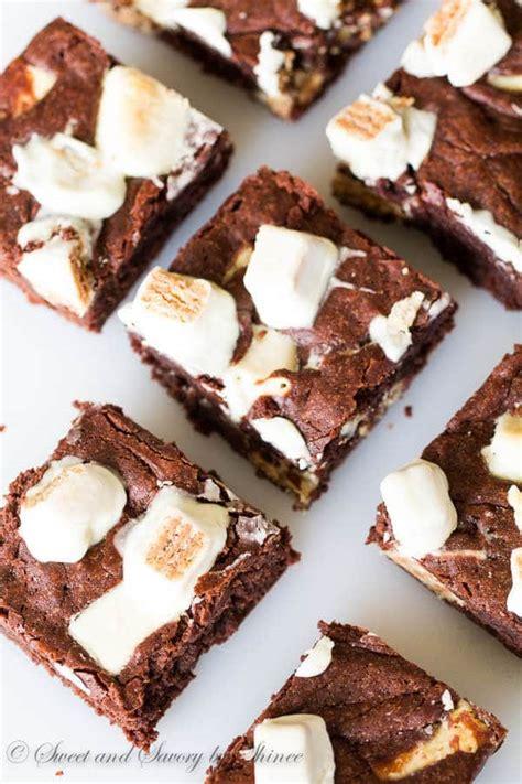 Kitkat Brownie fudgy kitkat brownies sweet savory by shinee