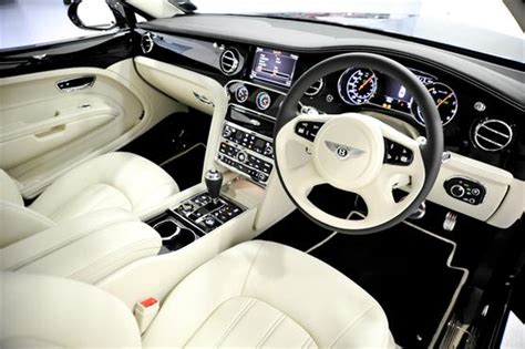 bentley mulsanne executive interior pulling power in more ways than one