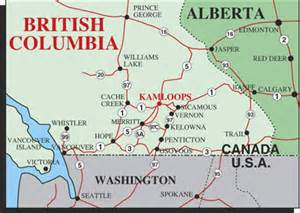 kamloops canada map kamloops area map kamloops downtown parking map