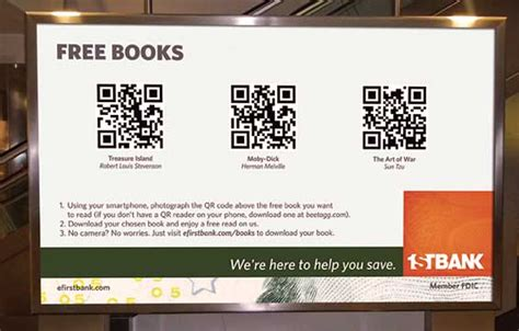 Madras Mba Books Free by Firstbank Uses Qr Codes In A Novel Giveaway