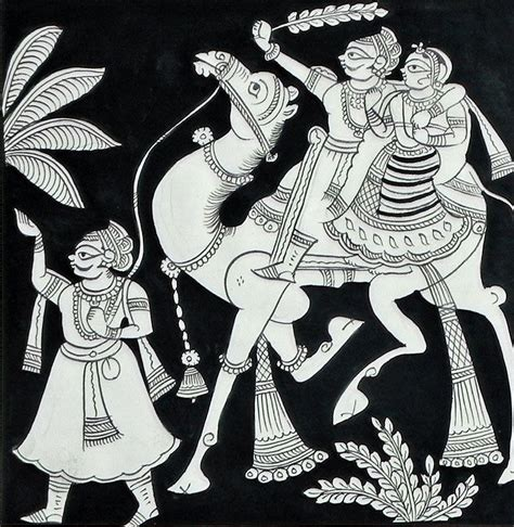 Small Nag Brilante Eds Black 40 Best Phad Paintings Images On Phad Painting