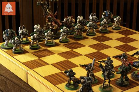Star Wars Chess Sets by Wargames Gallery 1 13 2016 Quot 40k Chess Quot Bell Of Lost Souls