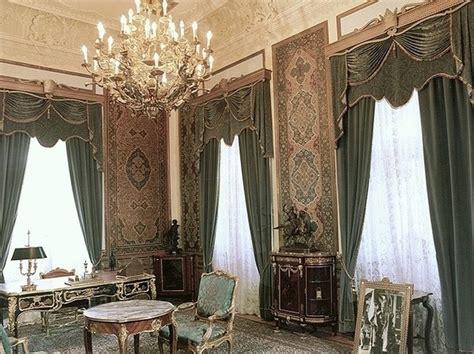iranian curtains royal office of green palace tehran iran the great