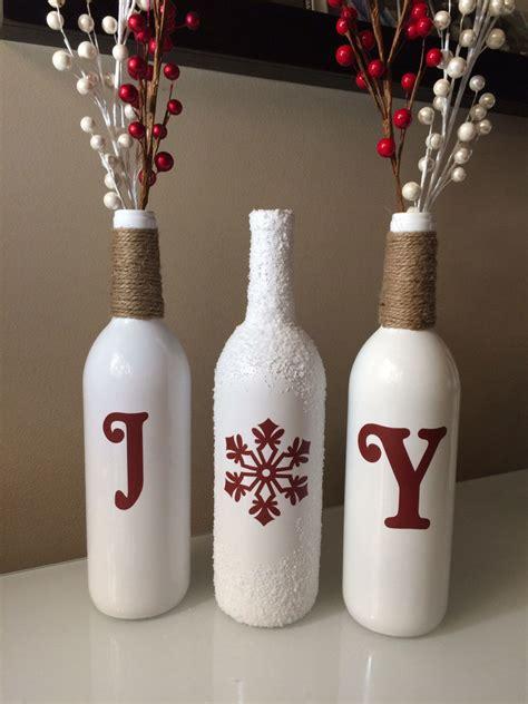 joy wine bottles christmas joy wine bottles christmas
