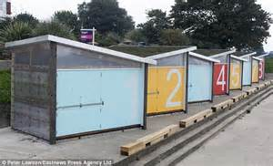 House Plans For Small Cabins new 163 20 000 beach huts look more like shipping containers