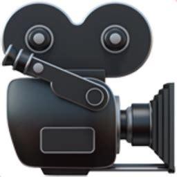 emoji film camera 8 movie camera emoji u 1f3a5