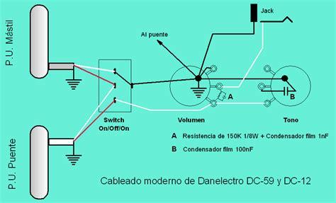danelectro guitar schematic danelectro get free image