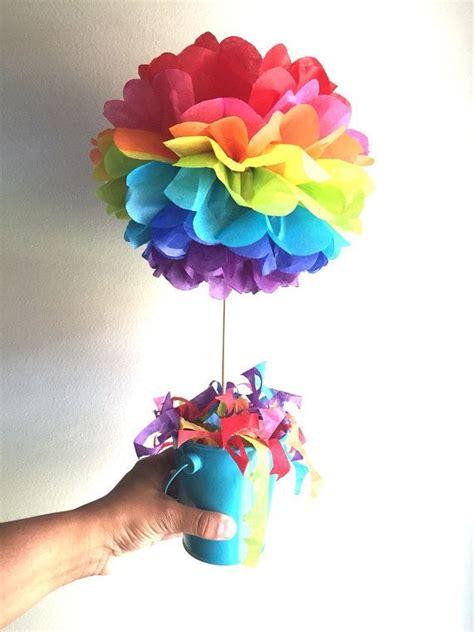 centerpieces birthday tables ideas 25 best ideas about rainbow birthday decorations on
