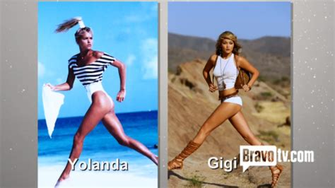Yolanda Foster During Midwling Career | photos gigi hadid s 2013 guess caign model yolanda s