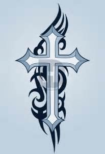 The Tribal Crucifix Tattoo Designs And Meaning For Men » Home Design 2017