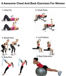 best4you back workouts 6 awesome chest and back