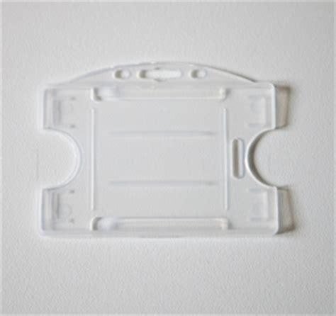 porta badge plastica porta badge orizzontale in plastica semi rigida trasparente