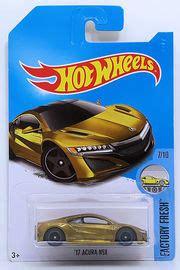 Wheels Acura Nsx Gold Japan Released Card Blister 17 acura nsx model cars hobbydb