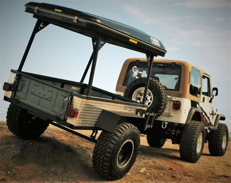 offroad trailer 4x4 road trailer black scorpion road bigfoot