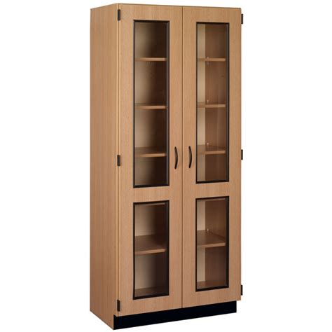 tall cabinet with glass doors stevens 83134 x84 tall display cabinet with glass doors