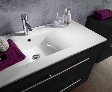 badezimmer 90 cm sam 174 5tlg badezimmer set spiegelschrank schwarz 90 cm verena
