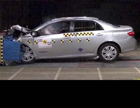 Toyota Corolla Safety Rating Toyota Corolla Oct 2010 2013 Crash Test Results Ancap