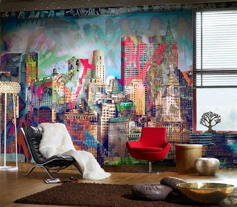 Graffiti Art Home Decor by Graffiti Interiors Home Art Murals And Decor Ideas