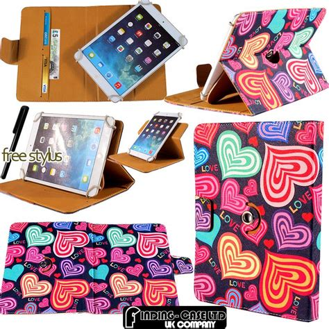 Cover Sarung Tablet Lenovo Universal 8 Inch Oeiginal Hp Resmi rotating stand wallet leather cover for various