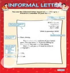 informal letter 8th grade ise i