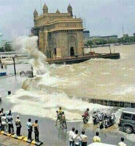 india yesterday gateway of india mumbai mumbai india in rainy season