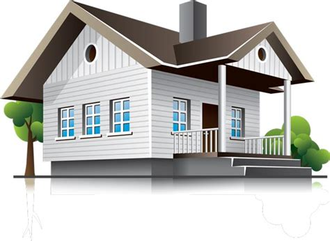 3d house building 3d houses and office buildings vectors