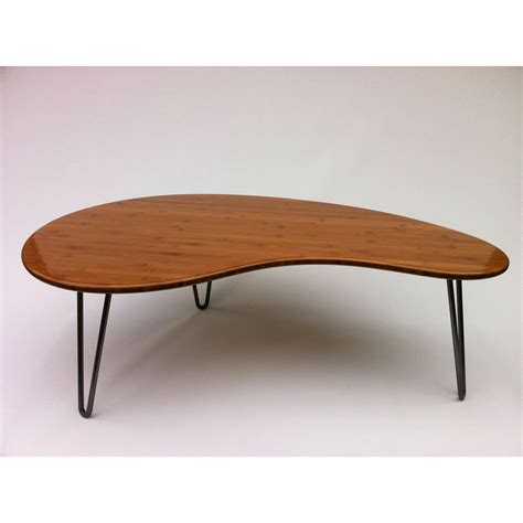 Kidney Bean Shaped Coffee Table Buy A Handmade Coffee Or Cocktail Table Kidney Bean Shaped Atomic Eames Era Boomerang Design