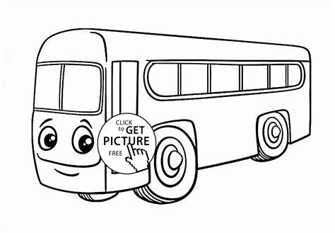 bus coloring pages for toddlers free city bus printable picture coloring page city bus