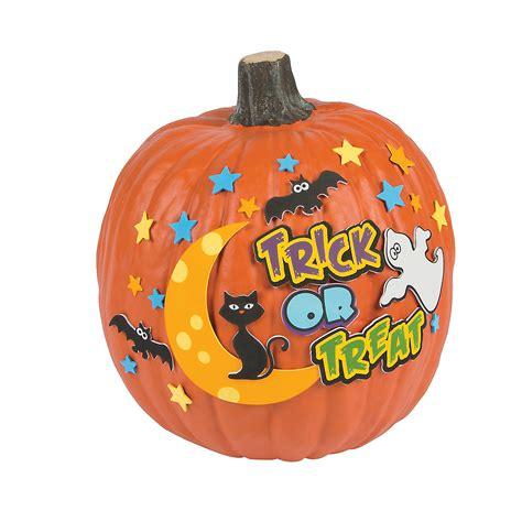 pumpkin decorating kits trick or treat pumpkin decorating craft kit pumpkin