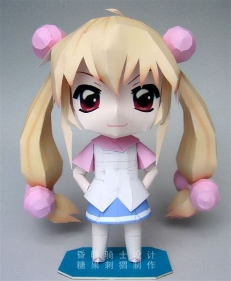 Anime Paper Crafts - diy kokonoe rin papercraft geeky stuff