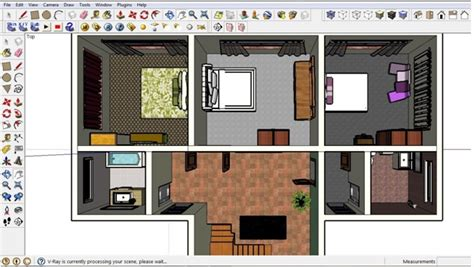 2d Floor Plan Software Free by Free Floor Plan Software Sketchup Review