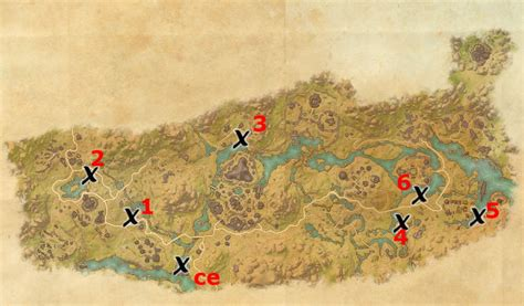 deshaan treasure map deshaan treasure map locations elder scrolls guides