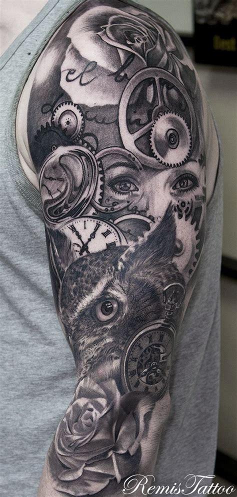 owl tattoo gun 25 best ideas about owl tattoo sleeves on pinterest owl