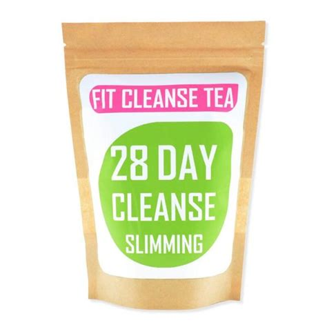 Fit Tea 28 Day Detox by Fit Cleanse Tea 28 Day Slimming Shapes By Mena